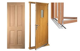 We fabricate timber doors throughout London